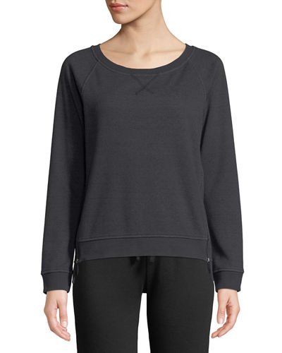 Morgan Raglan-Sleeve Sweatshirt