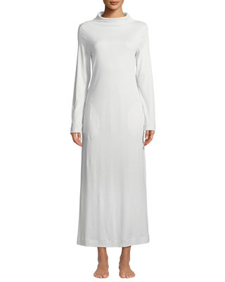 LIARA LONG-SLEEVE LONG NIGHTGOWN from Neiman Marcus