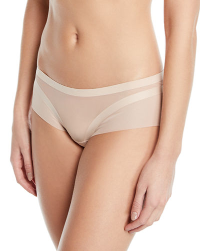 NY Day Tulle-Trim Shorty Briefs