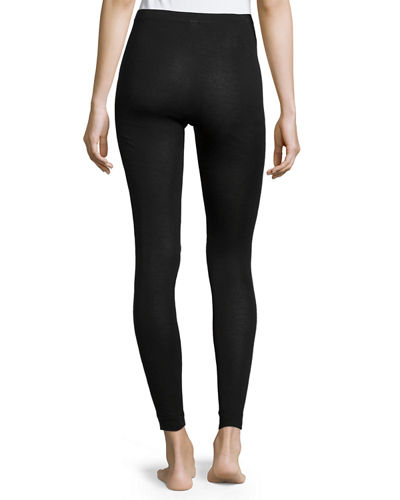 Hanro Silk & Cashmere Blend Long Leggings