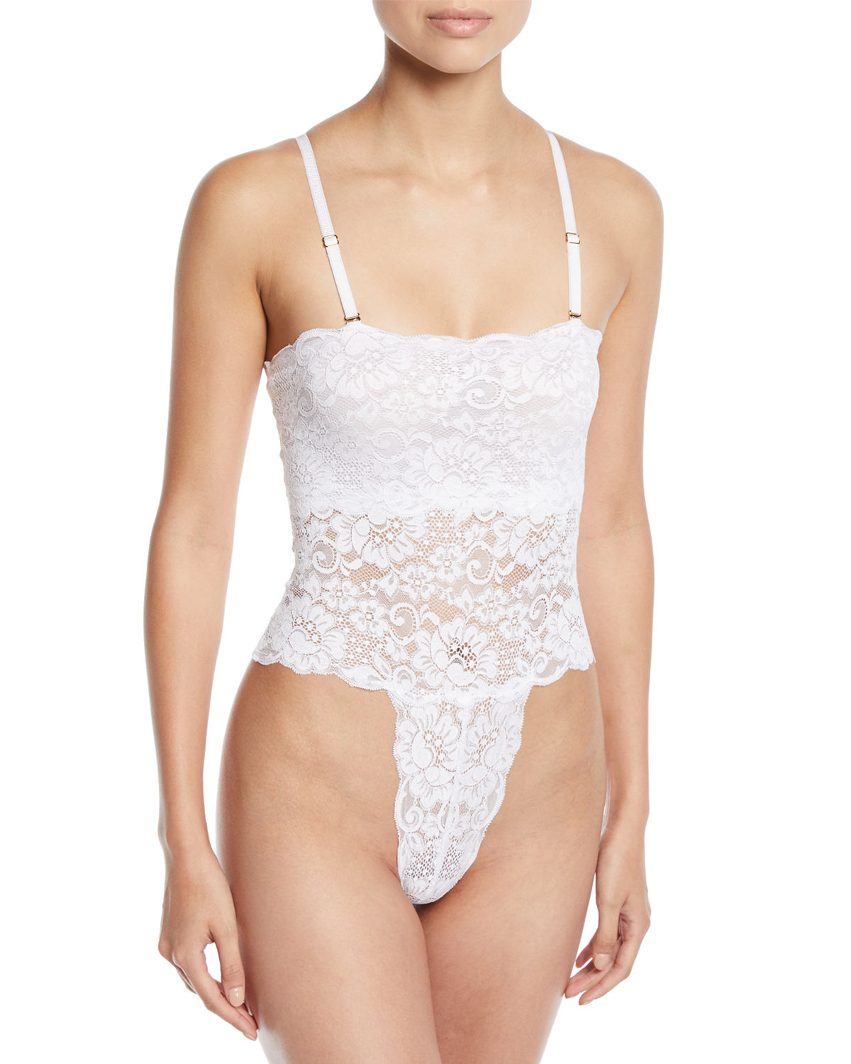 Spinster Reversible Lace Bodysuit