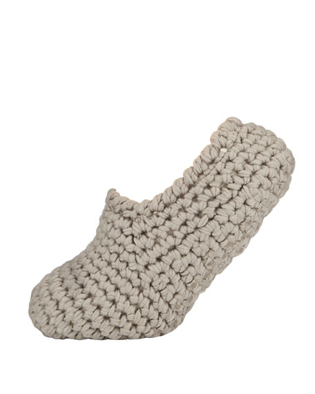 Eberjey Wide-Knit Ankle Slipper Socks