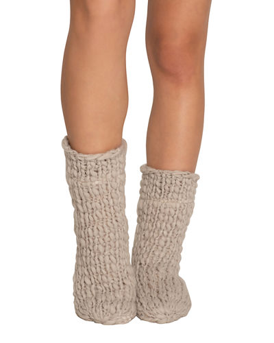 Scout Wide-Knit Slipper Socks