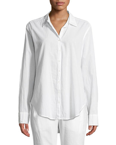 Beau Long-Sleeve Lounge Shirt