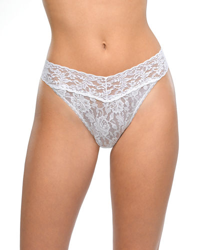 Signature Lace Original-Rise Rolled Thong