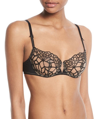 Java Lace Demi Cup Bra