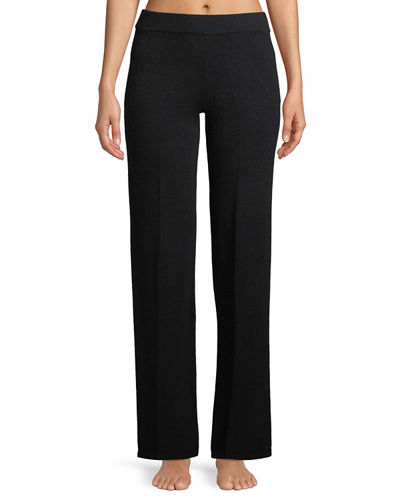 Neiman Marcus Cashmere Collection Basic Cashmere Lounge Pants