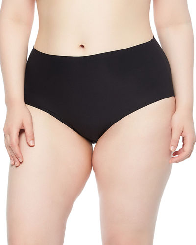 Soft Stretch Full-Coverage Briefs  Plus Size