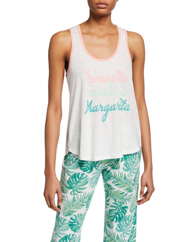 Typographic Lounge Tank Top