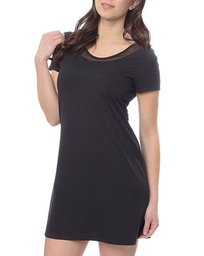 Betty Cap-Sleeve Nightshirt