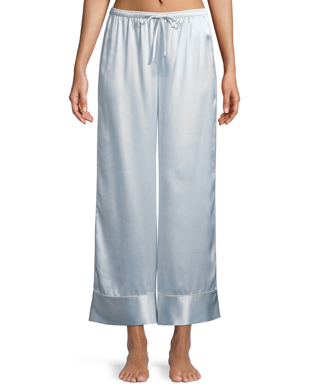 Neiman Marcus Pants RELAXED SILK LOUNGE PANTS