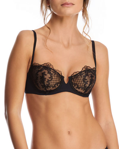 Endless Night Lace Demi Bra