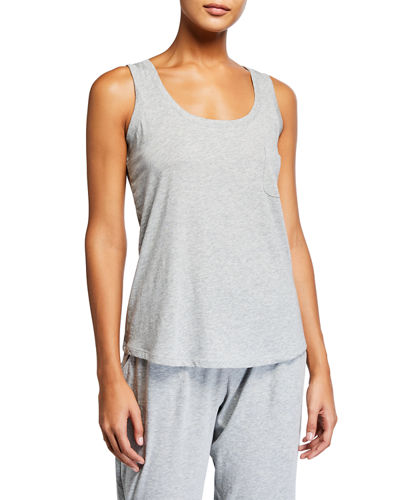 Orfelia Scoop-Neck Jersey Tank Top