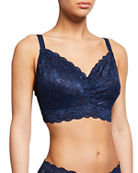Cosabella Never Say Never Curvy Lace Bralette and
