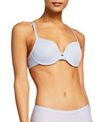 Chantelle Mod Flex Plunge T-Shirt Bra and Matching