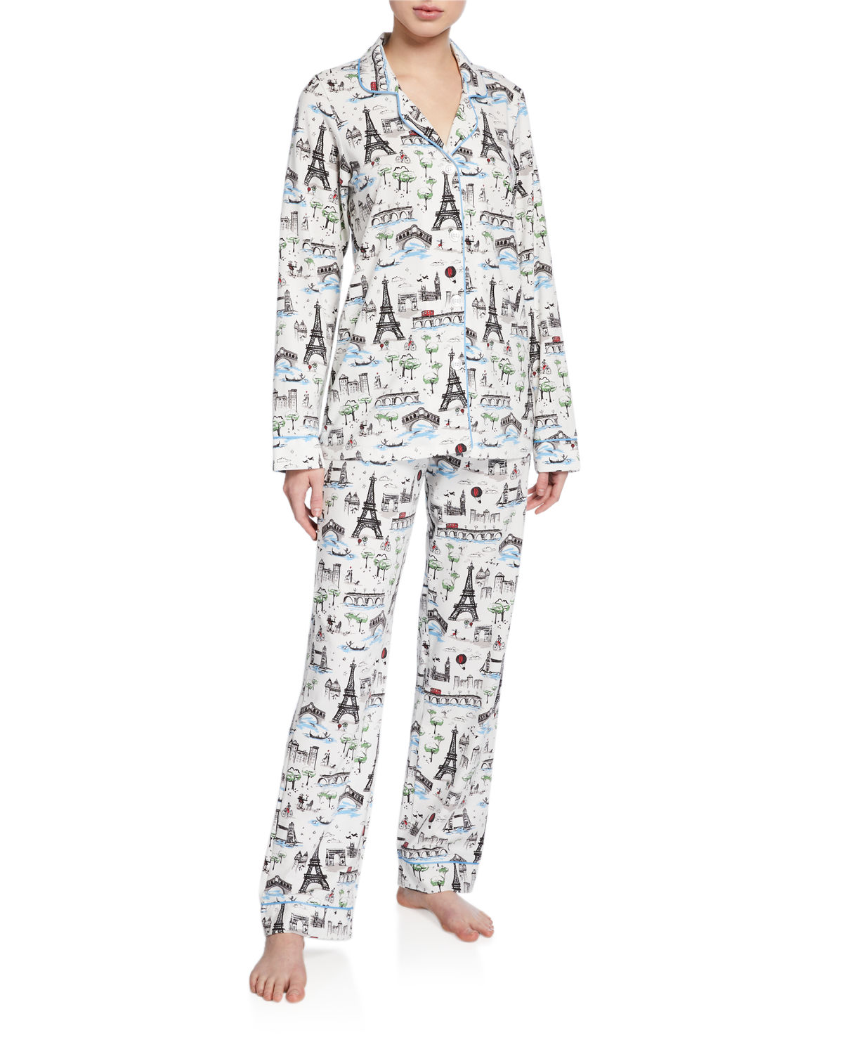 Bedhead Tops SUN AND MOON CLASSIC PAJAMA SET