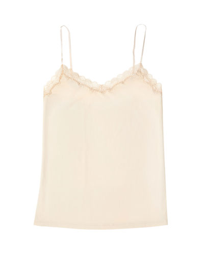 Happy Seams Lace-Trim Camisole