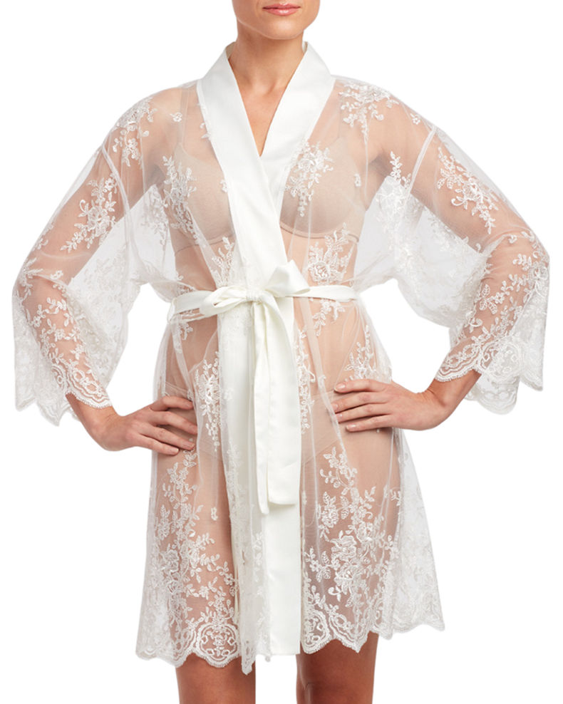 Rya Collection Darling Lace Coverup Robe