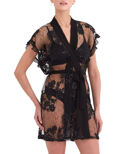 Rya Collection Charming Floral Coverup Robe