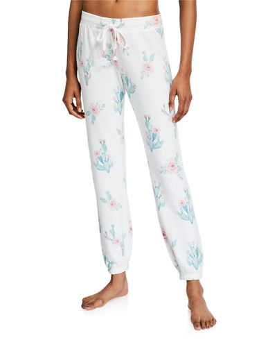 Lounge More Printed Jogger Pants