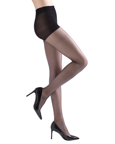 2-Pack Soft Suede Ultra Sheer Control-Top Tights