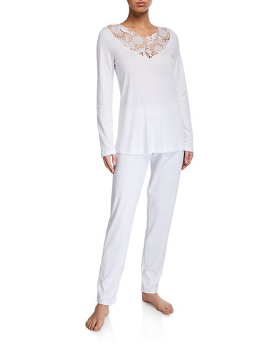 Flora Long Pajama Set
