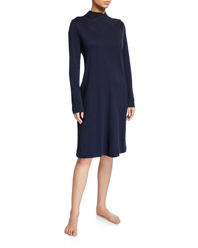 Luana Long-Sleeve Short Nightgown