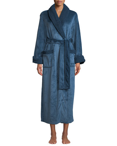 Plush Long Robe
