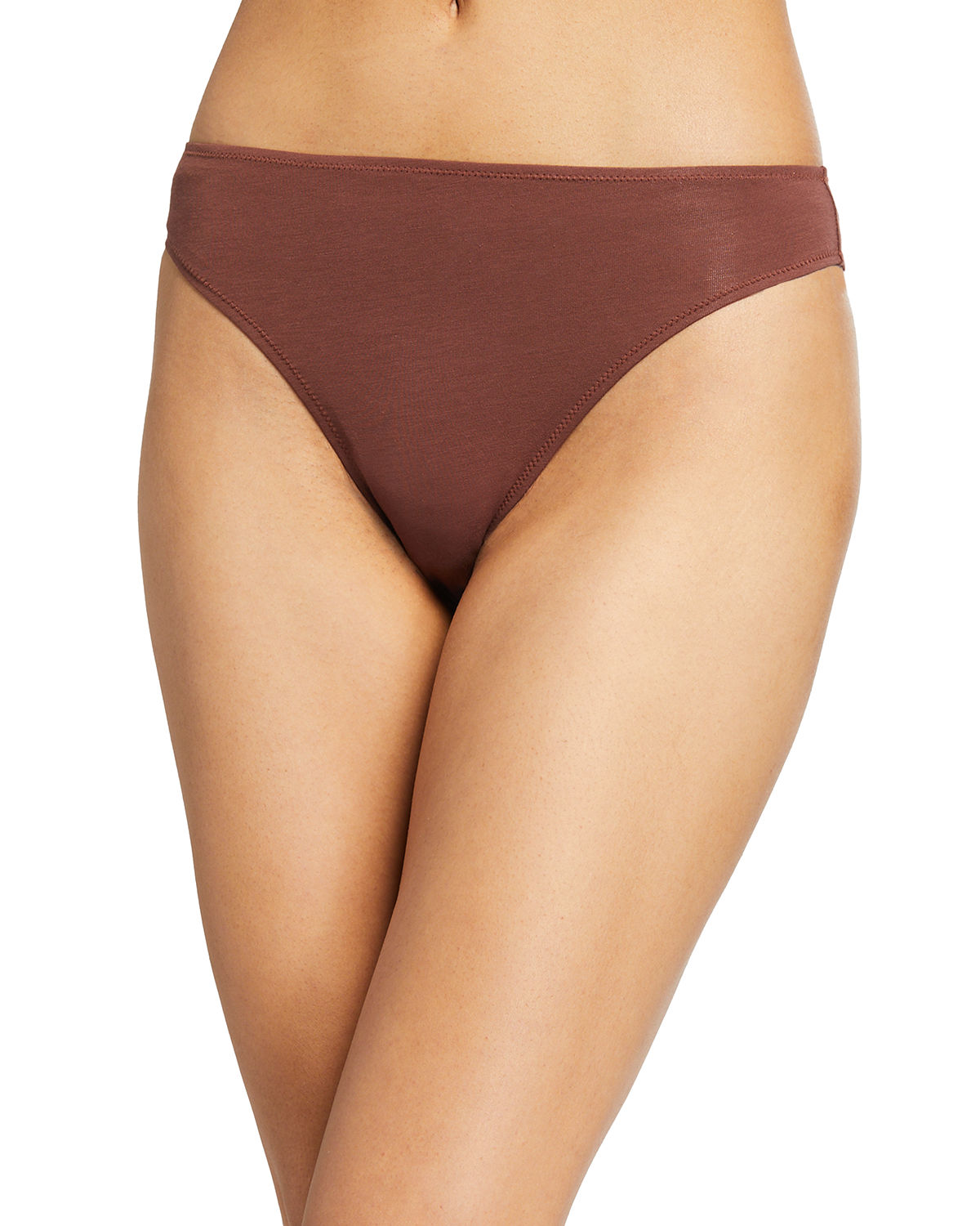 Skin Cottons GALEN WHISPER WEIGHT HIGH-LEG BIKINI BRIEFS