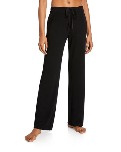 Kaia Jersey-Knit Straight-Leg Pants