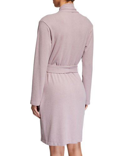 Natori Kaia Solid Knit Wrap Robe