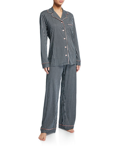 Bella Striped Pajama Set