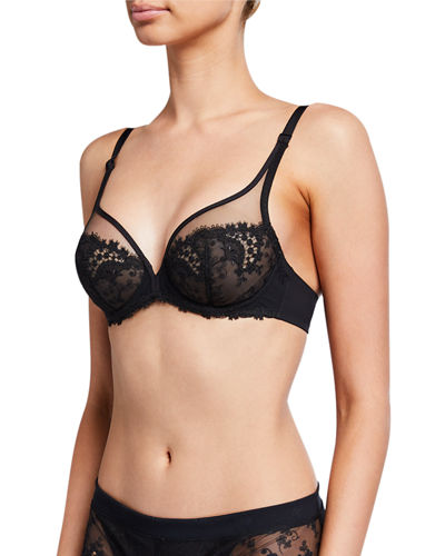 Wish Sheer Plunge Bra