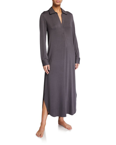 Cozy Terry Cloth Lounger Nightgown