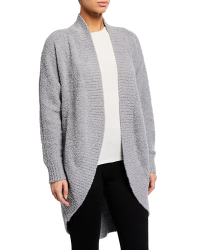 Fremont Fluffy Knit Open-Front Cardigan