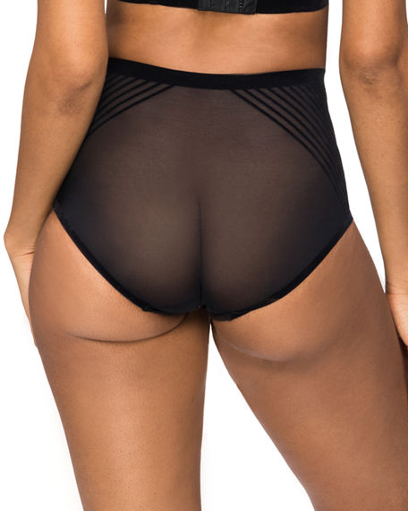 Image 2 of 2: Nancy Ganz Body Perfection High-Waisted Briefs
