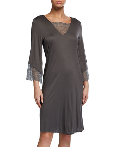 Aria 3/4-Sleeve Nightdress