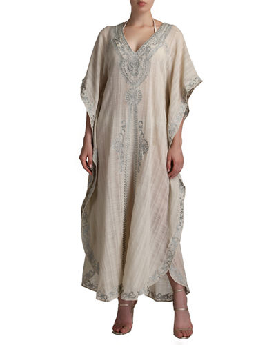 Flora Bella Denali Embroidered Caftan