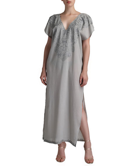 Flora Bella Cavintil Embroidered Caftan