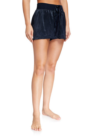 PJ Harlow Mikel Silky Lounge Shorts