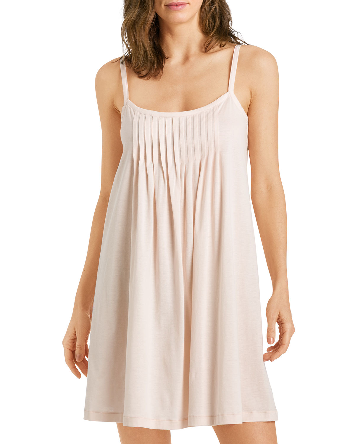 Hanro Knits JULIET PLEATED CHEMISE