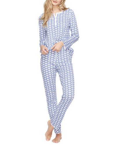 Hathi Animal Print Pajama Set