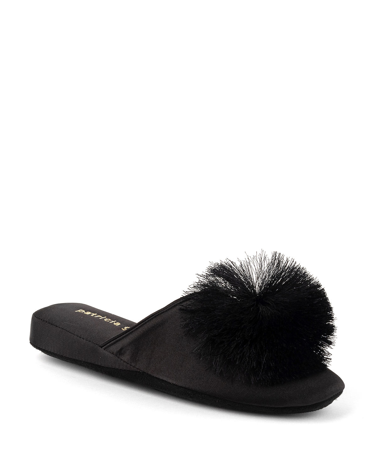 Cathy Satin Slippers