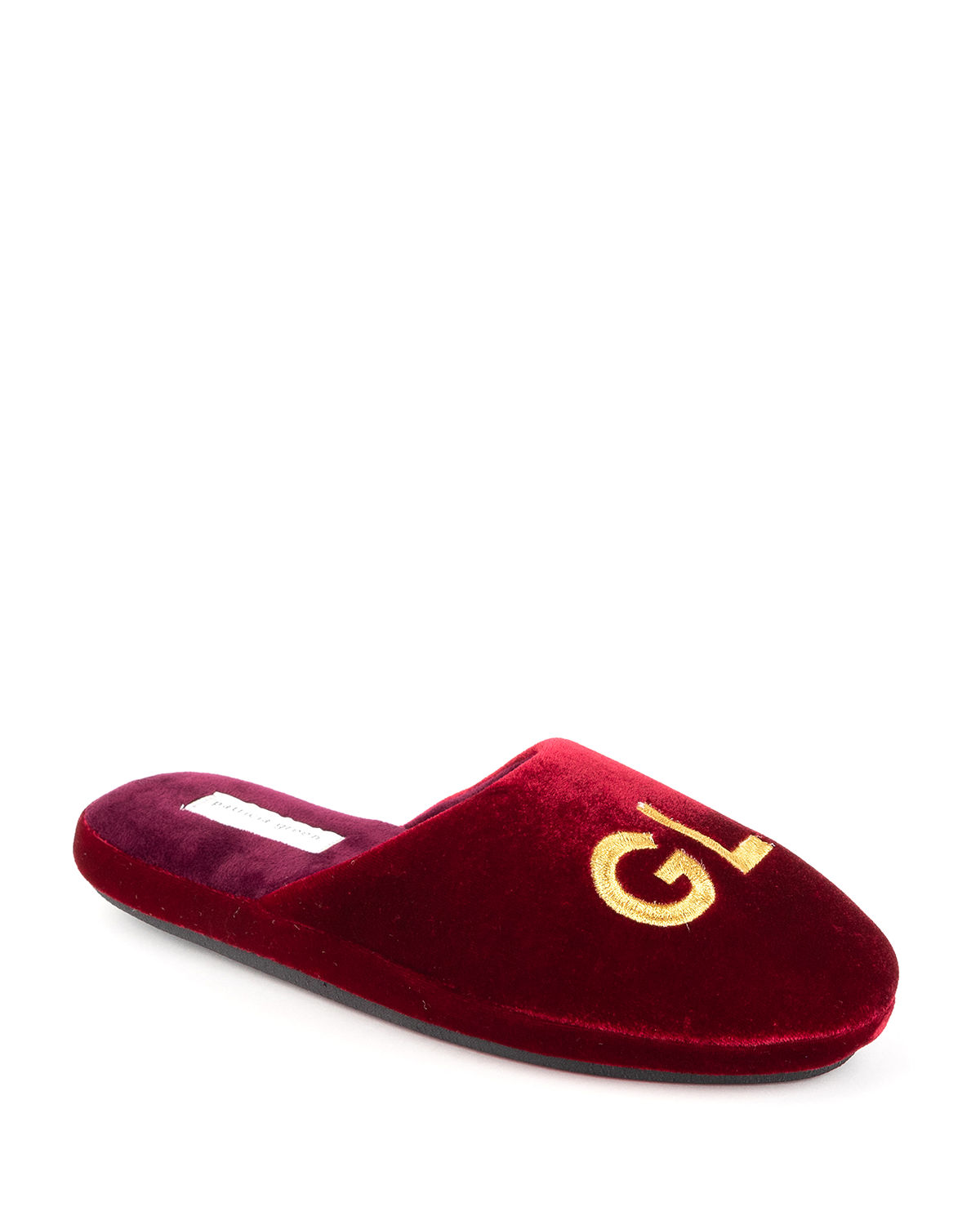 Glam Embroidered Slippers