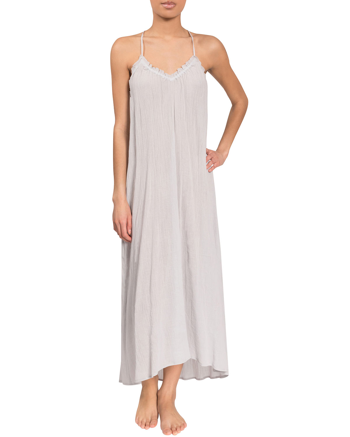 Grace Racerback High-Low Nightgown