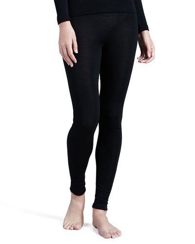 Wool & Silk Blend Leggings