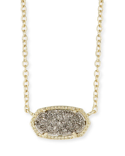 Kendra Scott Elisa Abalone Shell Pendant Necklace