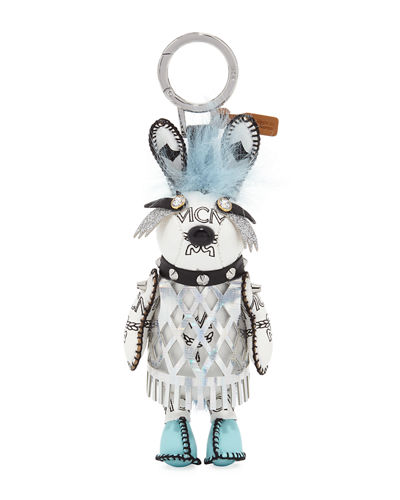 MCM Rabbit Punk Charm for Handbag