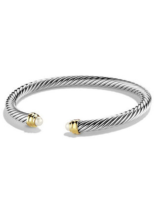 5mm Pearl Cable Classics Bracelet, Small