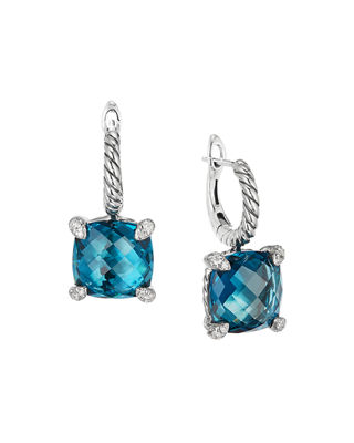 Châtelaine Diamond Earrings